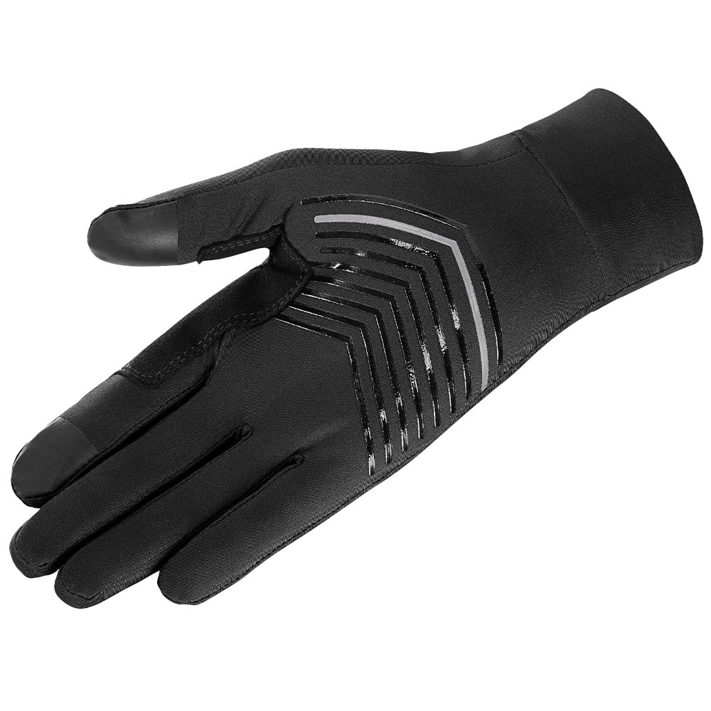 Salomon Pulse Glove U - A durable insert on the thumb and forefinger prevents wear in the part of the glove that gets the most abrasion