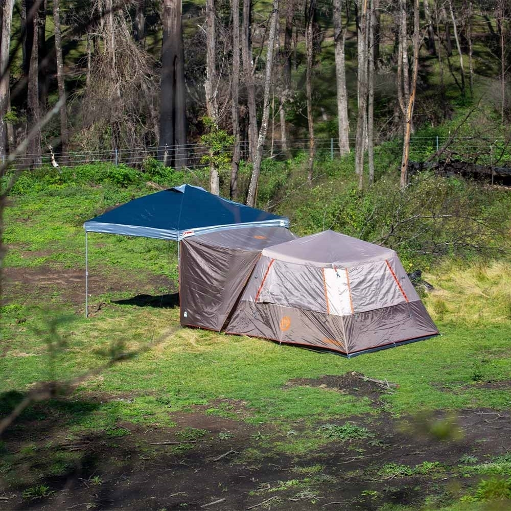 Coleman Instant Up Silver Series Evo Shade Awning -Increase the shaded area of your tent