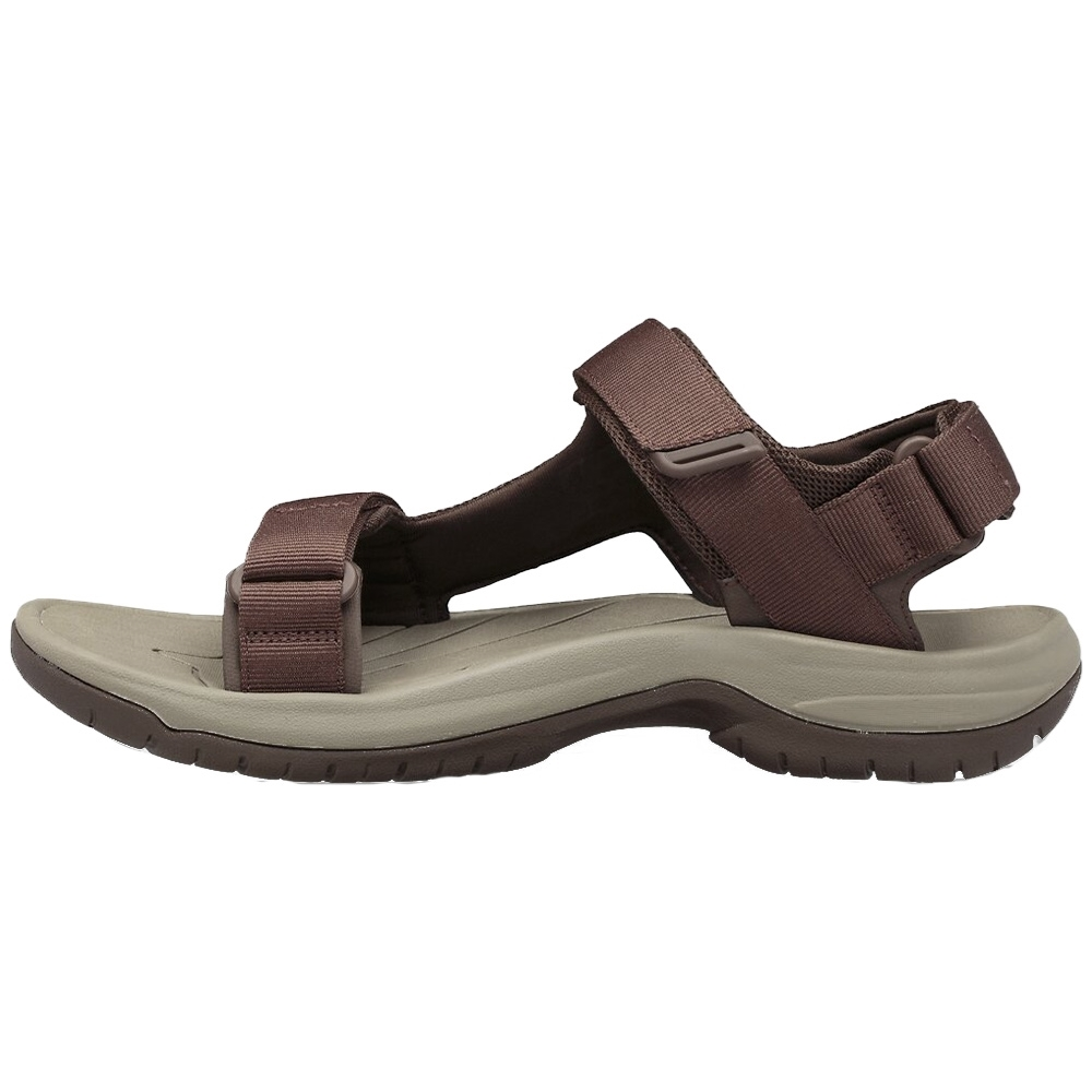 Teva Tanway Men's Sandal - Easy hook-and-loop closure comes on and off quickly and gets the fit just right