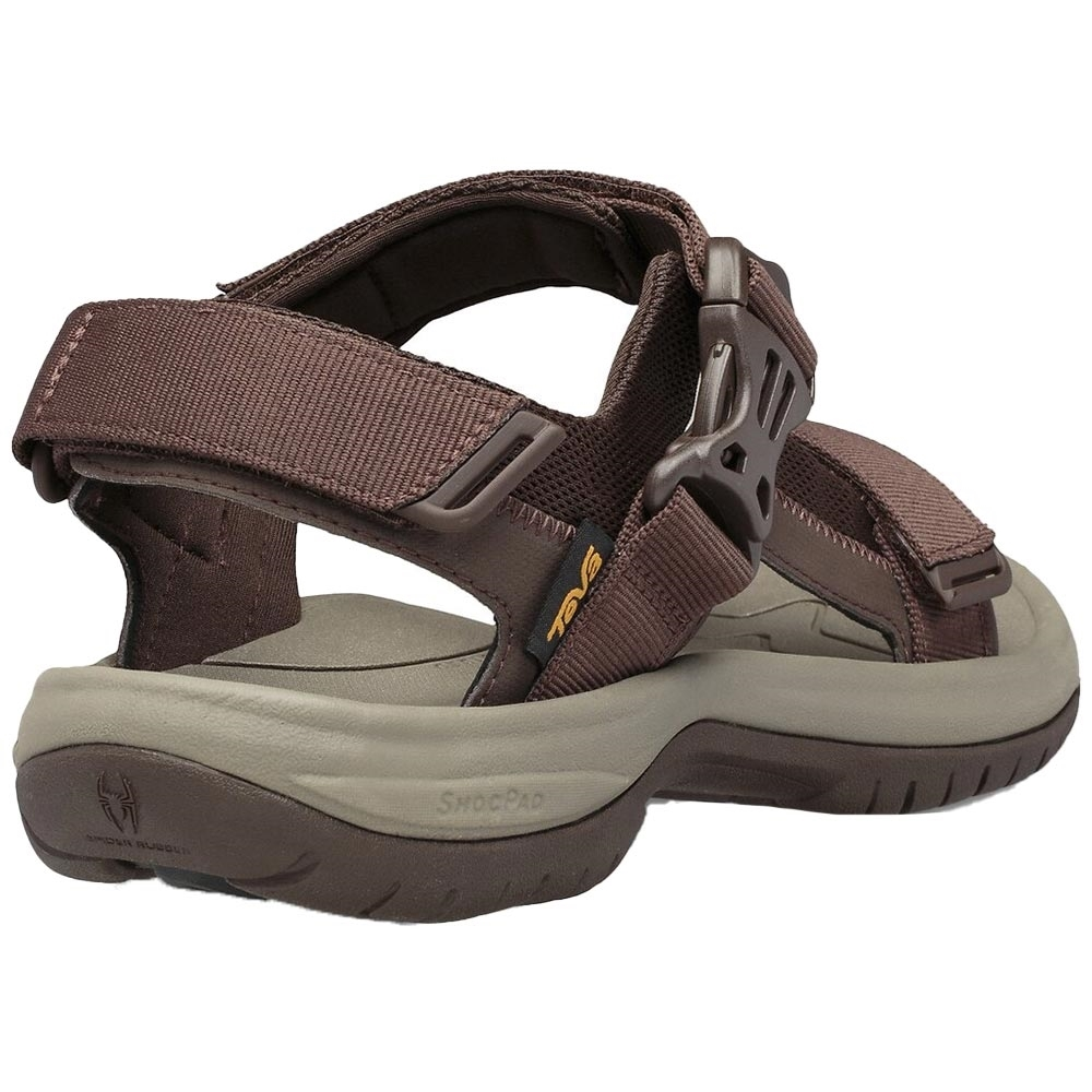 Teva Tanway Men's Sandal - Plastic buckle closure gets you in and out quickly