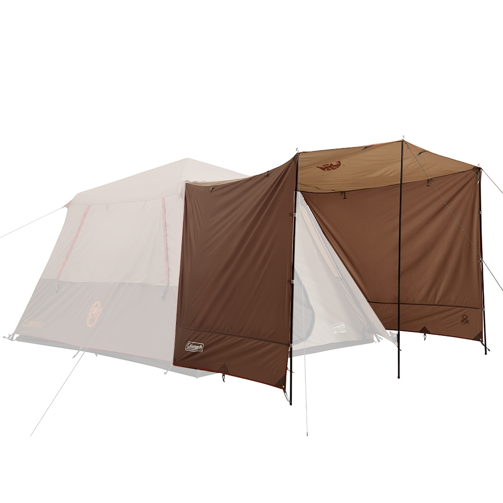 Coleman Instant Up Silver Series Evo Shade Awning - Awning and 2 side walls