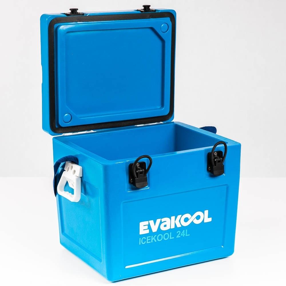 EvaKool Icekool Icebox 24 Litre - Hinged lid