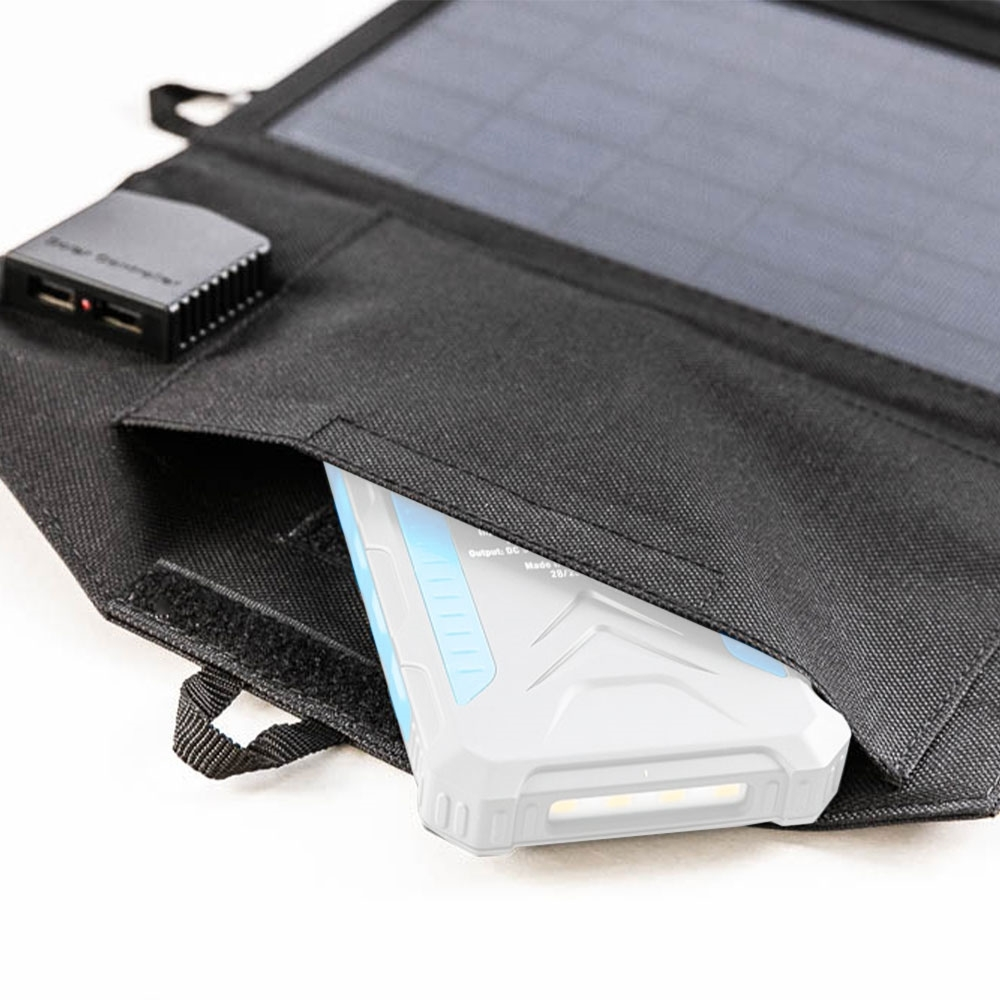 Hard Korr 15W Personal Solar Panel - Tough protective storage pocket