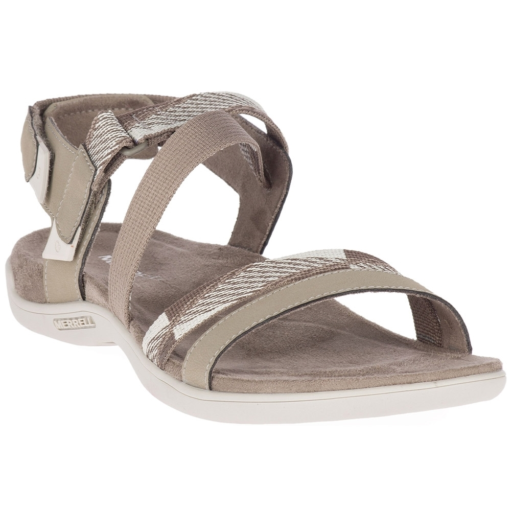 Merrell District Mendi Backstrap Wmn's Sandal Brindle - Style & comfort all in one