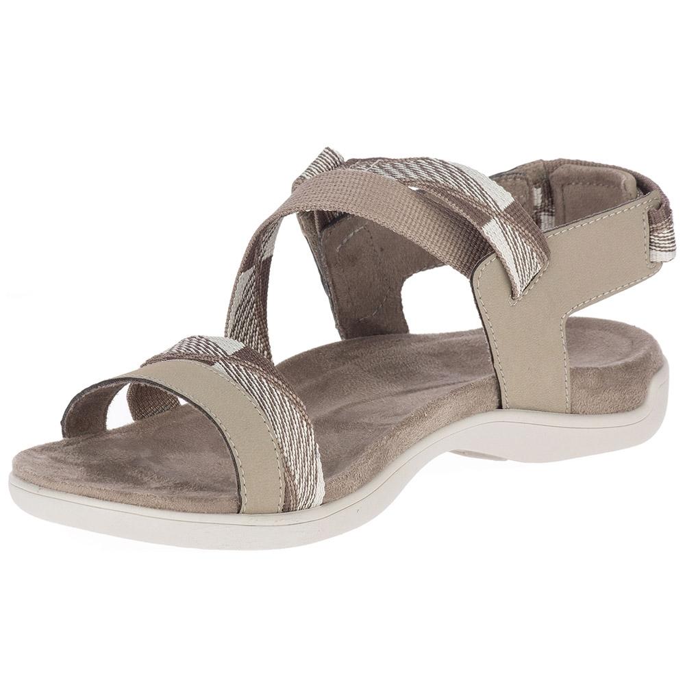 Merrell District Mendi Backstrap Wmn's Sandal Brindle - Textile upper