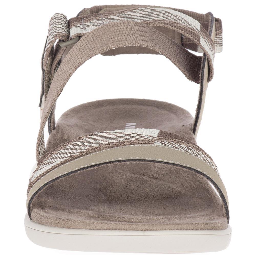 Merrell District Mendi Backstrap Wmn's Sandal Brindle - Velcro adjustable closure
