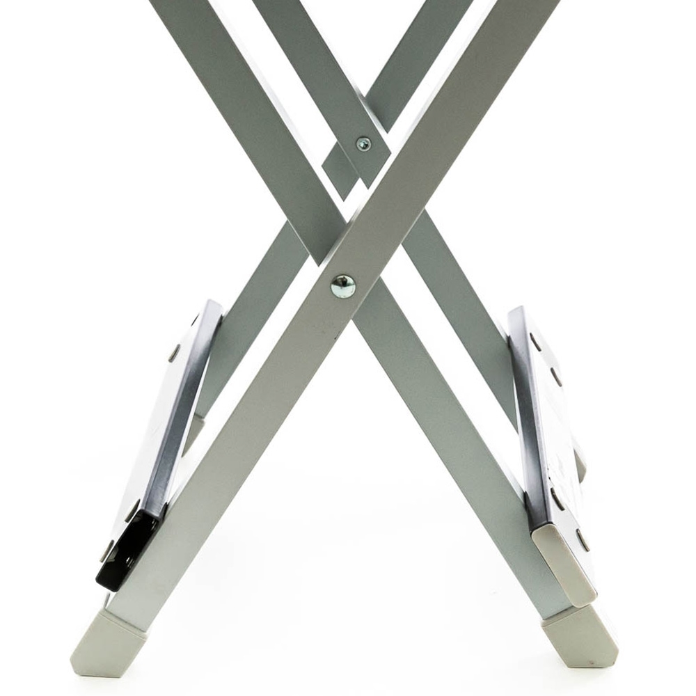 OZtrail Folding Aluminium Stool - Easy and quick to set up and pack away