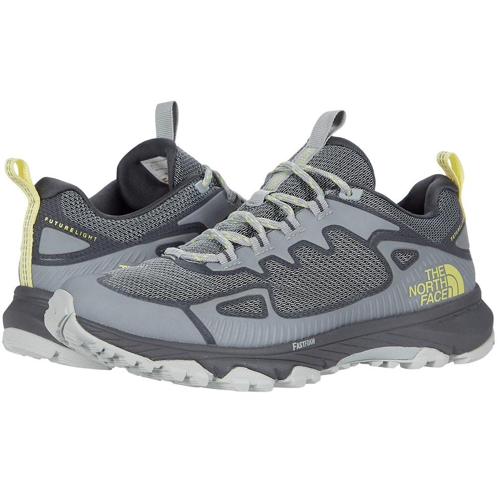 TNF Ultra Fastpack IV FL Wmn's Shoe High Rise Grey Limelight