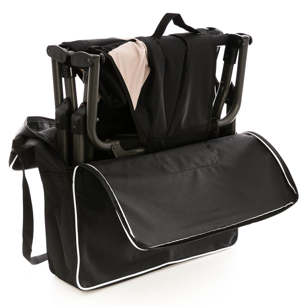 OZtrail Duralite Compact Directors Chair - Deluxe zippered carry bag included