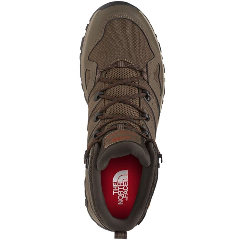 TNF Hedgehog Fastpack II Mid WP Men's Boot Bipartisan Brown Coffee Brown - Eco-friendly OrthoLite® X35™ Hybrid™ footbed
