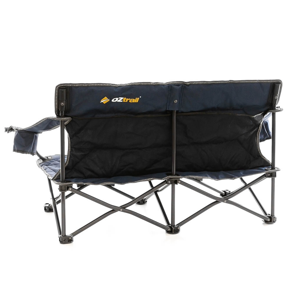 OZtrail Festival Twin Chair - 240kg weight rating (120kg on each side)