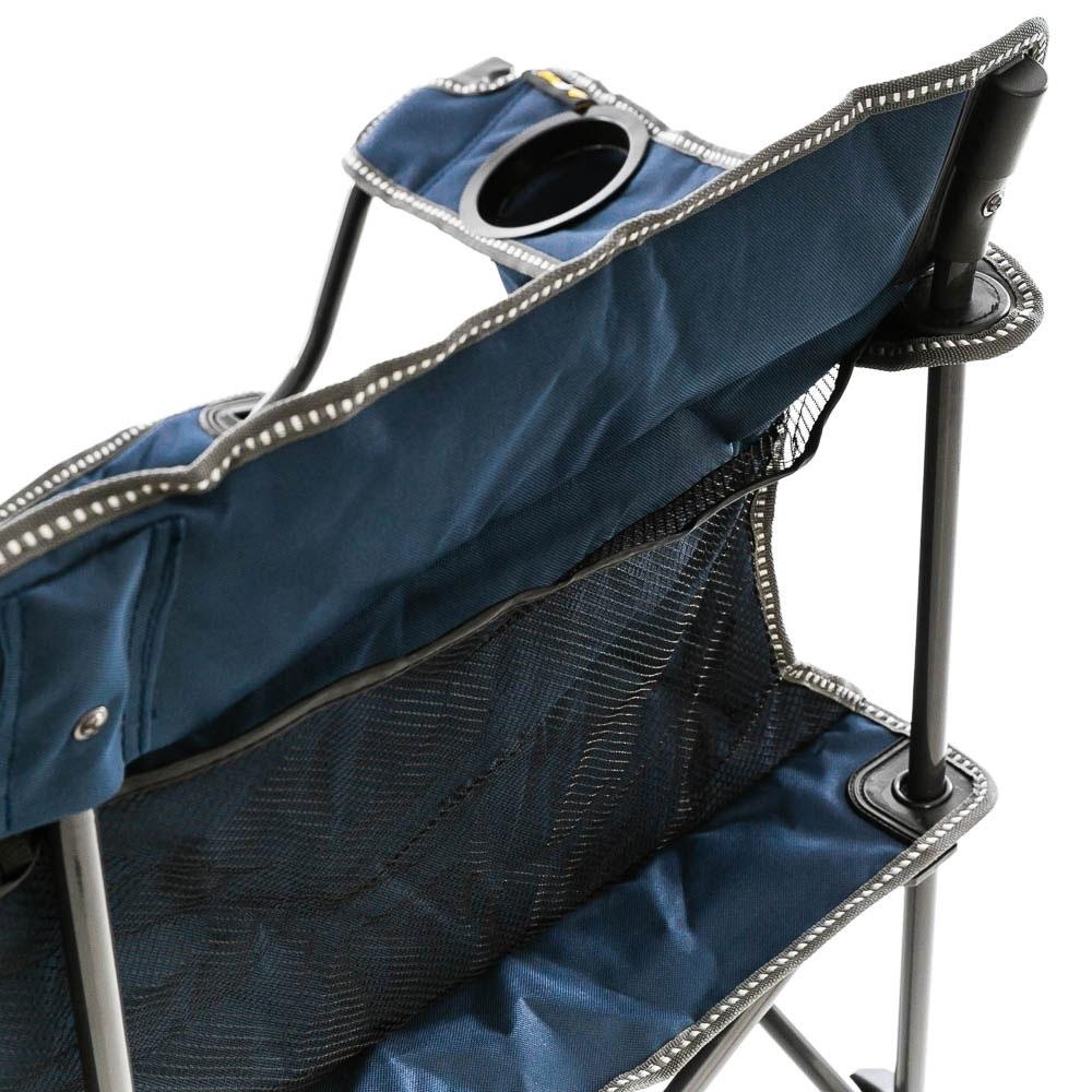 OZtrail Festival Twin Chair - Rear storage pockets