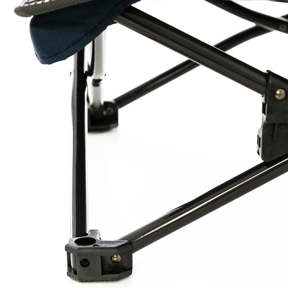OZtrail Festival Twin Chair - Strong 16mm high-tensile steel frame