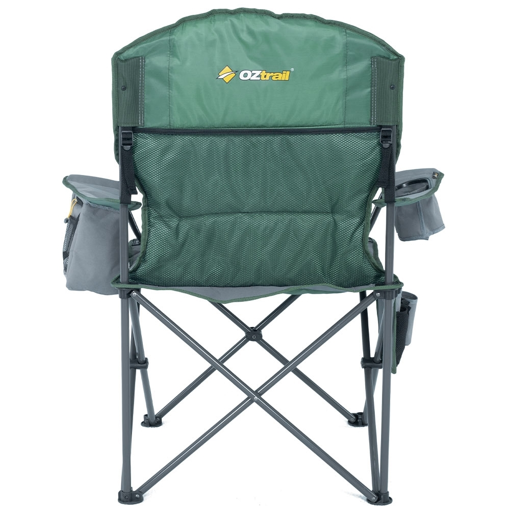 OZtrail Cooler Arm Chair - Rear pocket