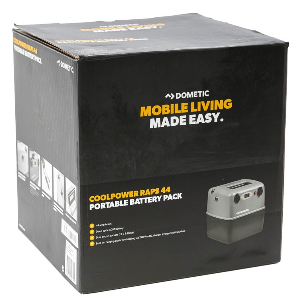 Dometic CoolPower RAPS44 Battery Power Pack - Packaging
