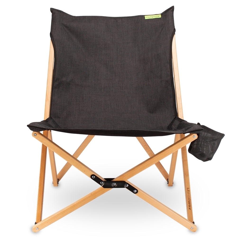 Zempire Roco Lounger Camp Chair V2 - Durable 900D polyester seat