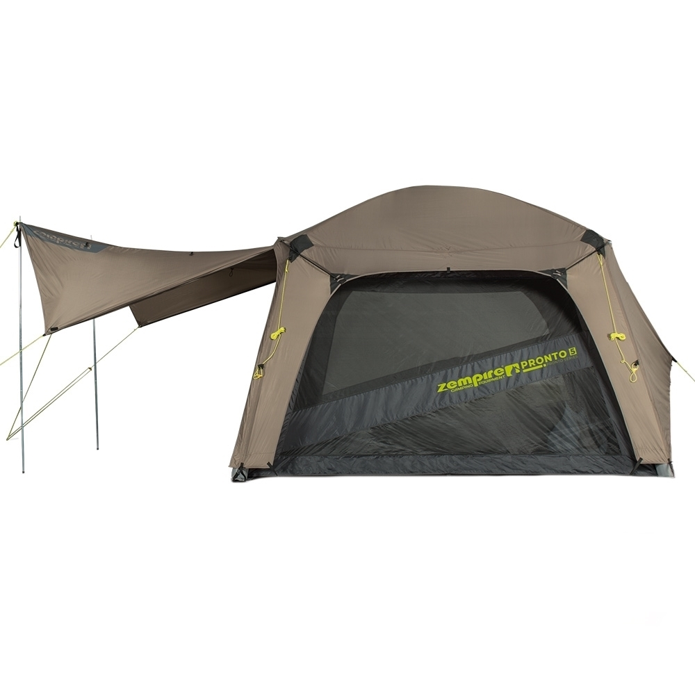Zempire Pronto 5 Inflatable Air Tent - Gullwing awning