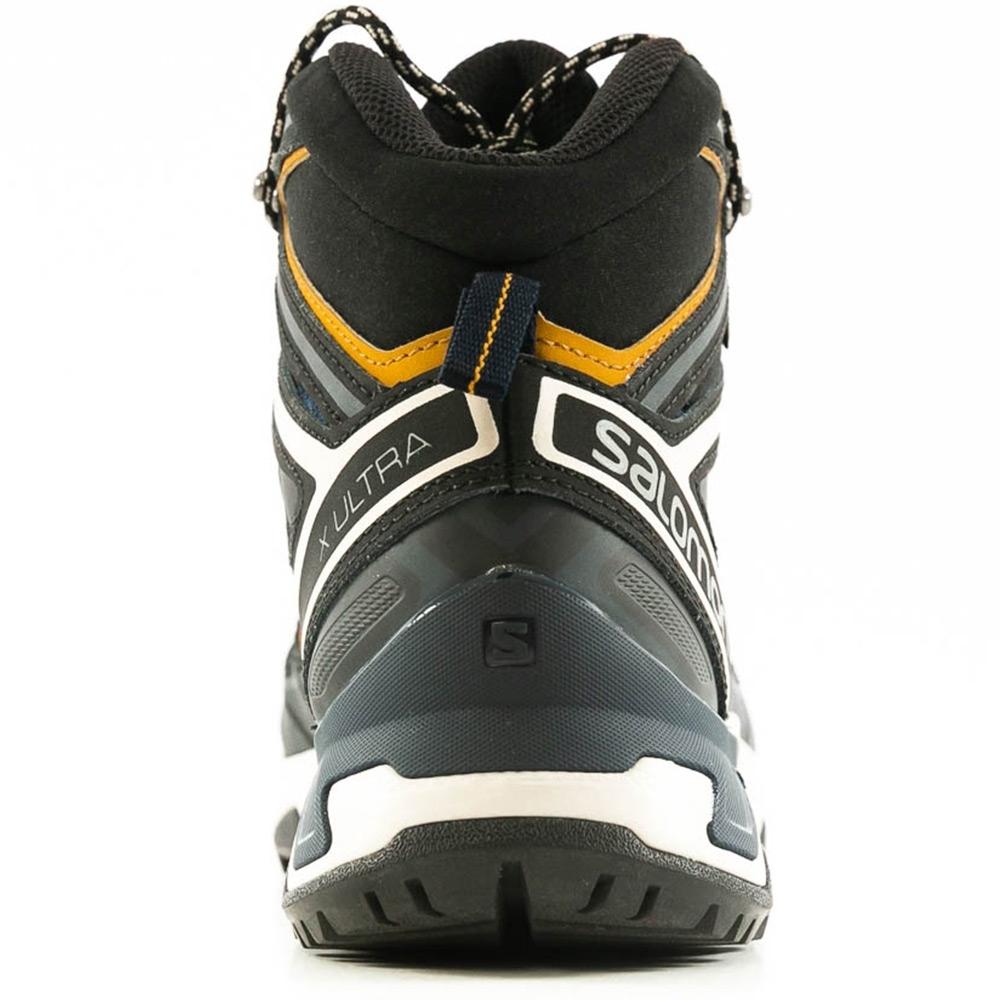 Salomon X Ultra 3 Mid GTX Men's Boot - Protective heel cup and toe cap