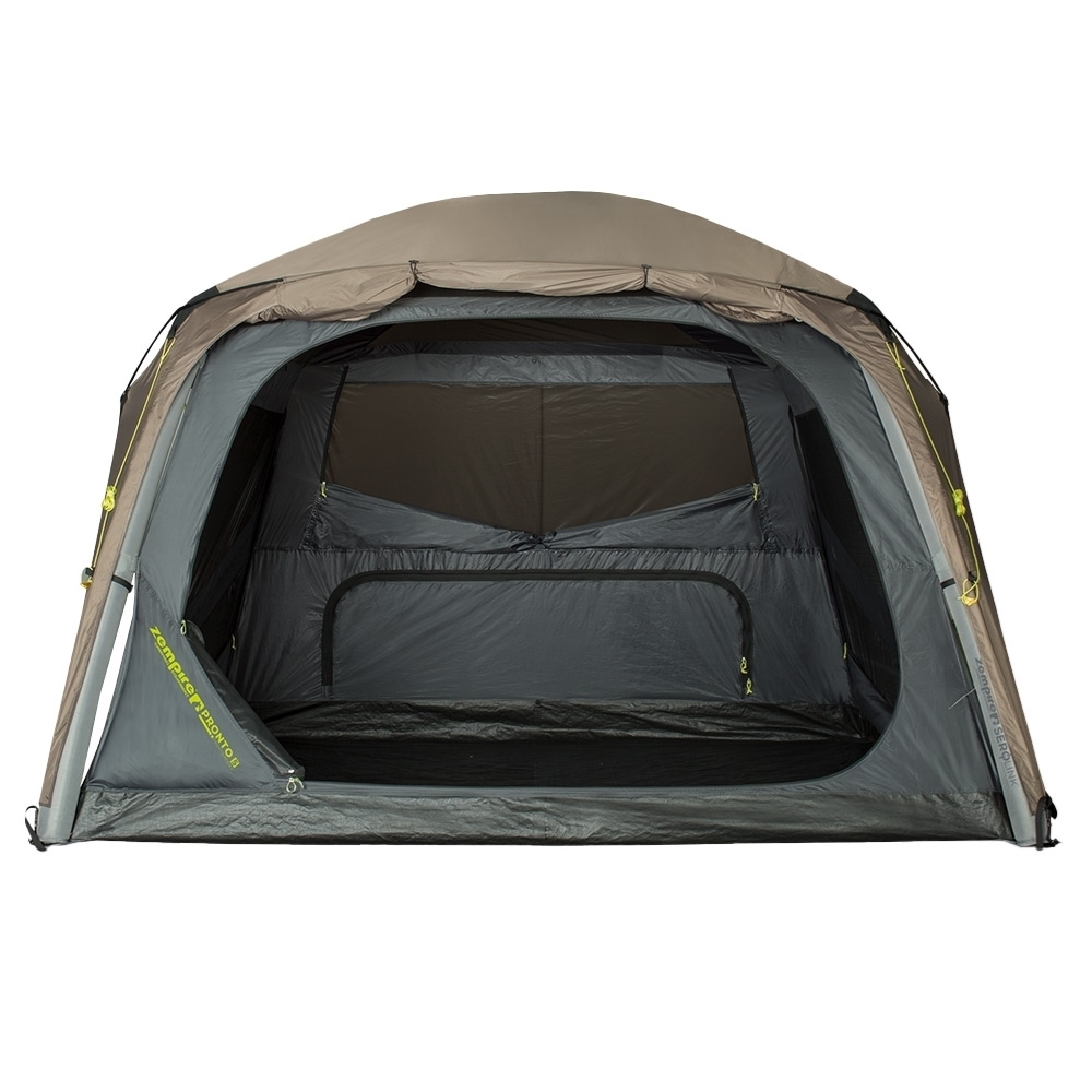 Zempire Pronto 5 Inflatable Air Tent - Full front opening