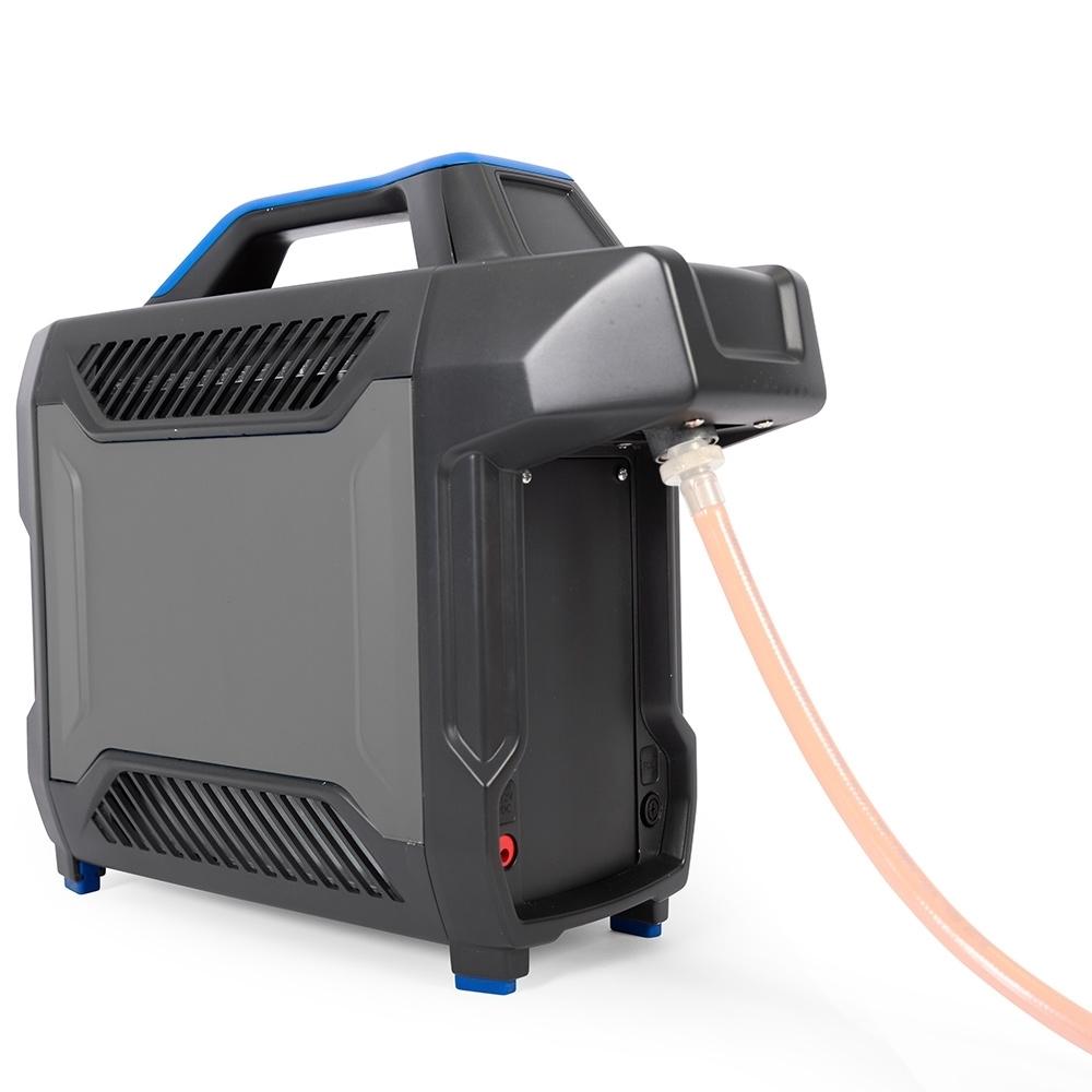 Companion AquaHeat Lithium Gas Shower - Can run off gas cylinder via hose