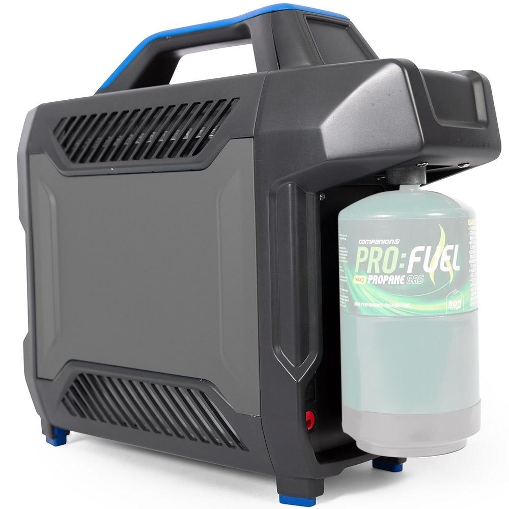 Companion AquaHeat Lithium Gas Shower - Can run off cartridge directly