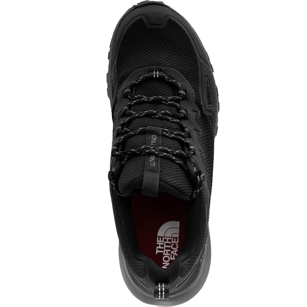 TNF Ultra Fastpack IV FL Men's Shoe TNF Black Zinc Grey - Abrasion-resistant mesh upper