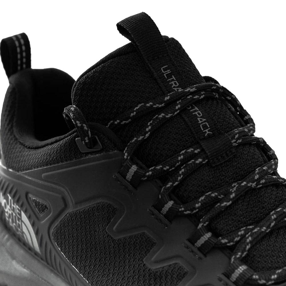 TNF Ultra Fastpack IV FL Men's Shoe TNF Black Zinc Grey - Ghillie lacing system