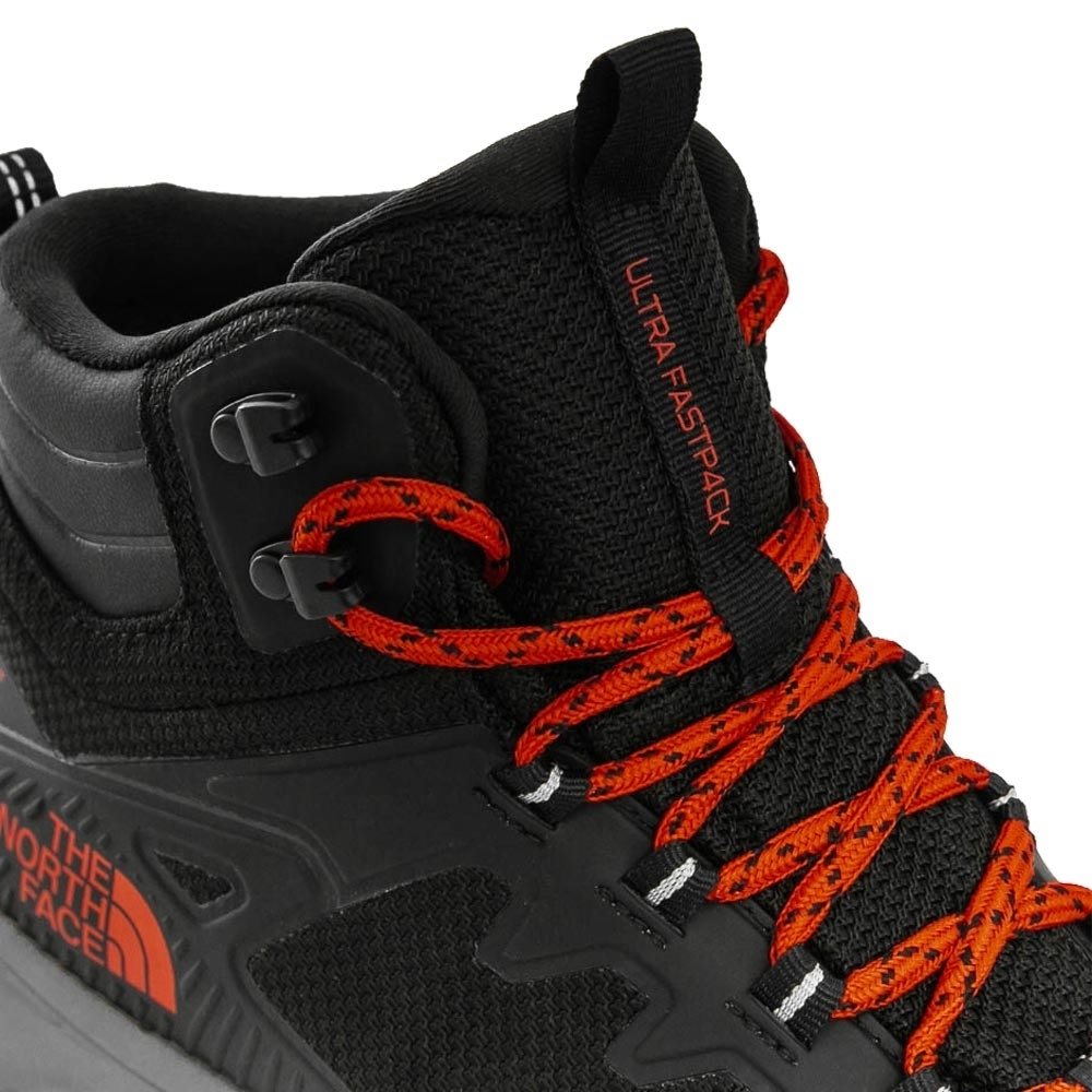 TNF Ultra Fastpack IV Mid FL Men's Boot - Gusseted tongue to keep out debris