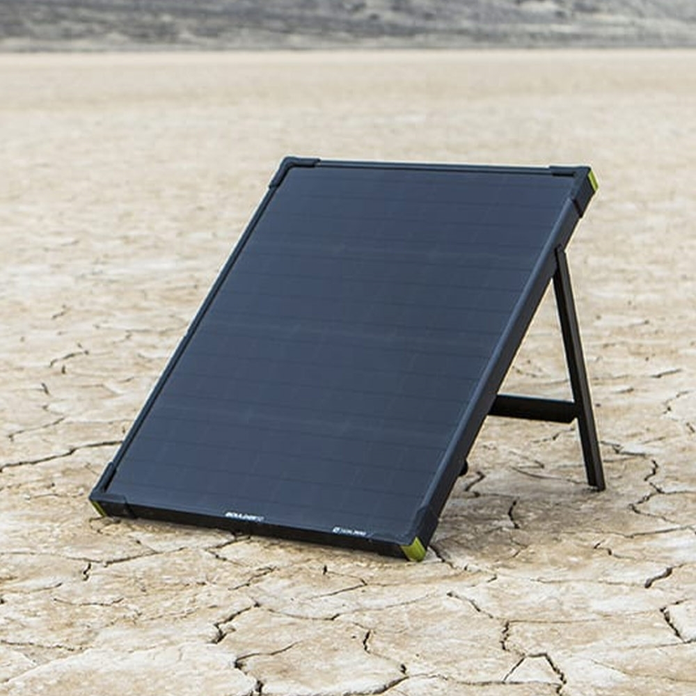Goal Zero Boulder 50 Solar Panel - Equipped with an integrated kickstand