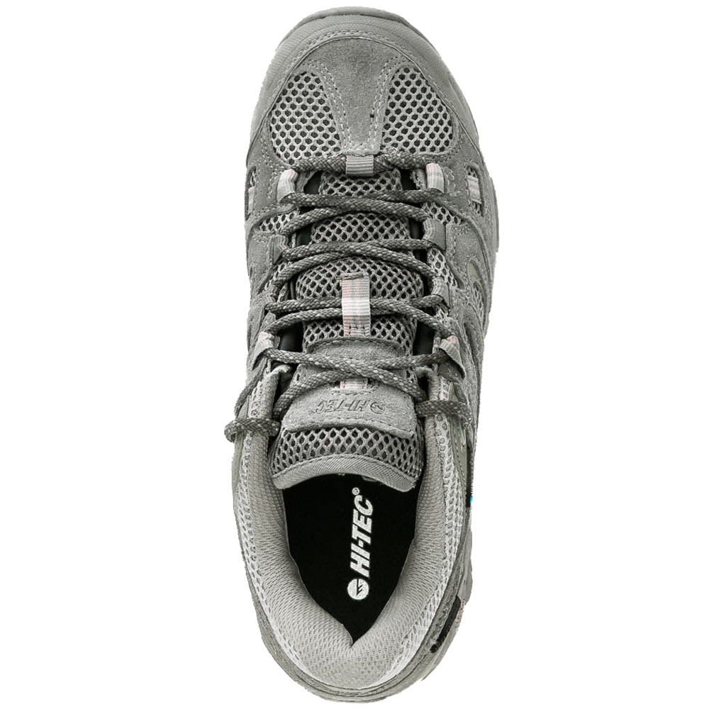 Hi-Tec Ravus Vent Low WP Wmn's Shoe - Suede upper with synthetic trim and breathable mesh underlay