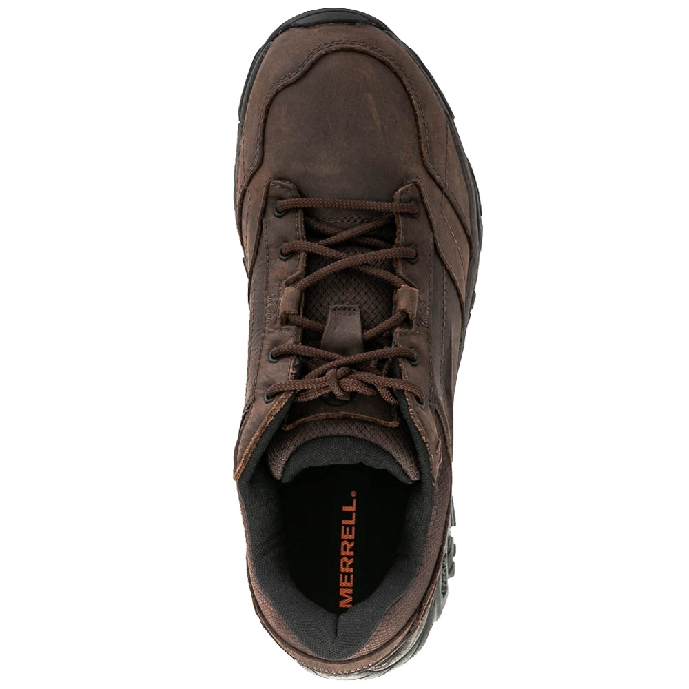 Merrell Moab Adventure Lace Men's Shoe - Nubuck leather and mesh upper