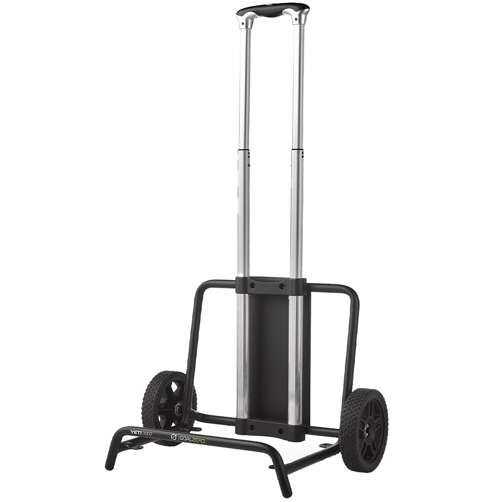 Goal Zero Yeti Portable Power Station Roll Cart - Featuring a telescoping handle and go-anywhere wheels