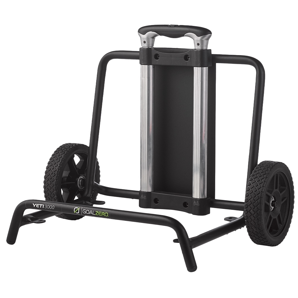 Goal Zero Yeti Portable Power Station Roll Cart - Compact telescoping handle