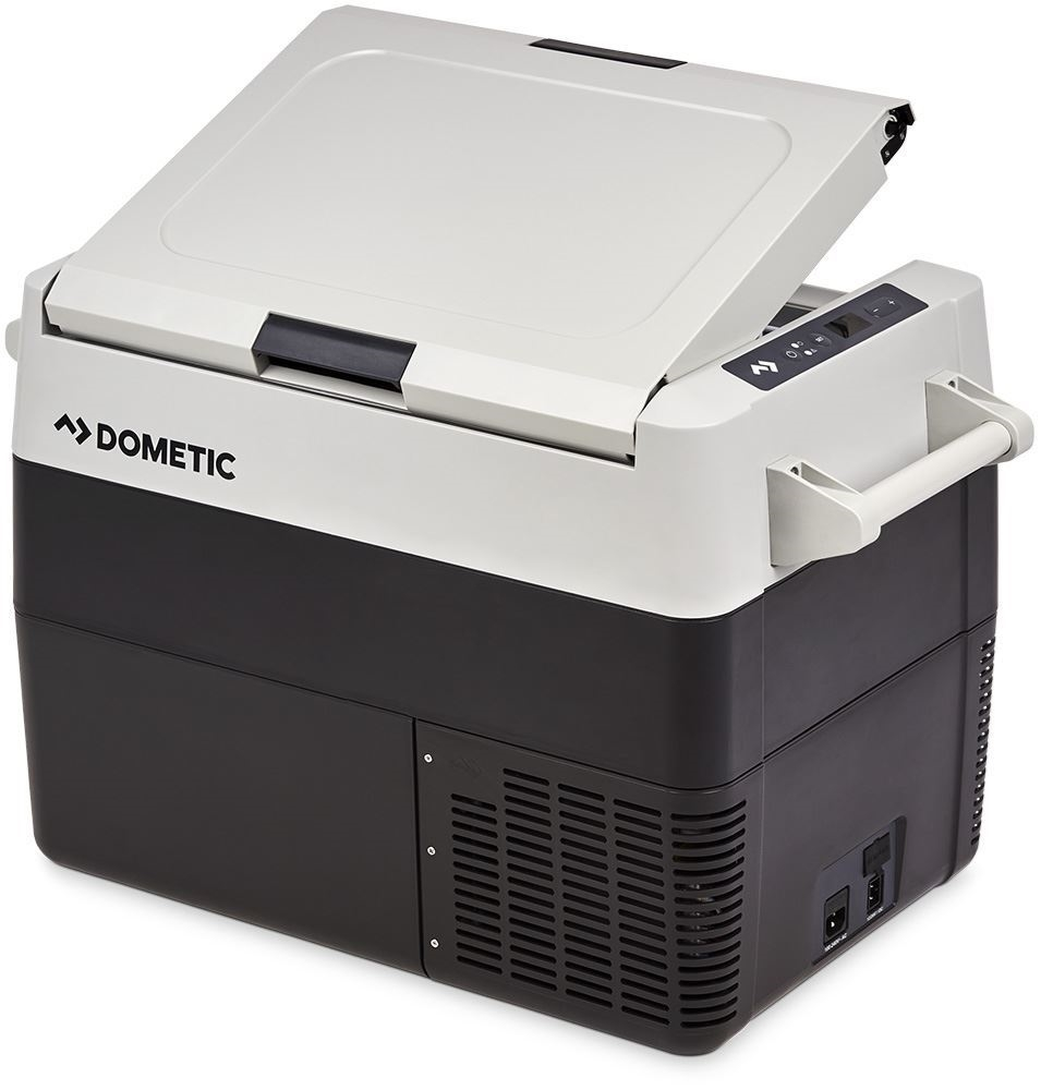 Dometic CFF 45 Portable Fridge Freezer + Cover - Double-sided opening lid
