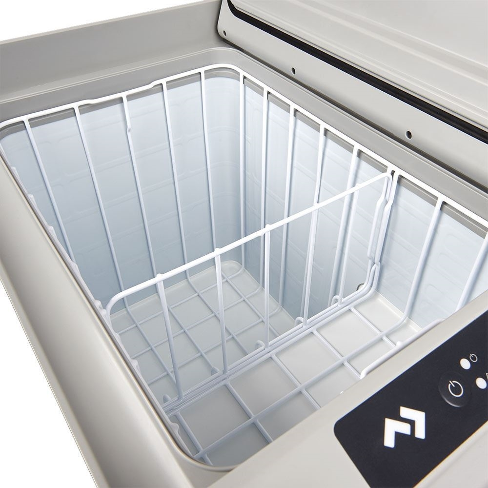 Dometic CFF 45 Portable Fridge Freezer + Cover - Full-sized basket and removable divider