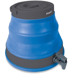 Popup 12L Water Carrier Blue