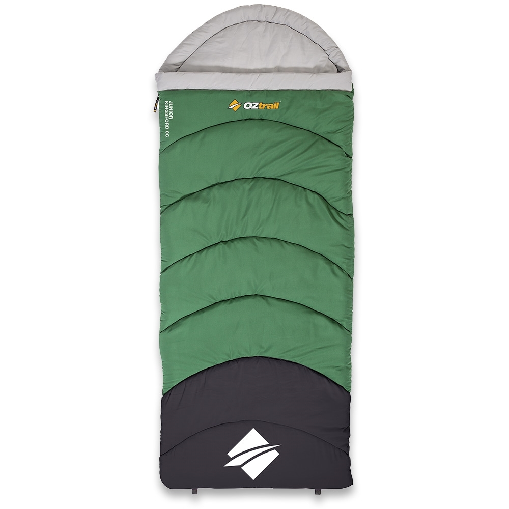 OZtrail Kingsford Junior Hooded Sleeping Bag 0°