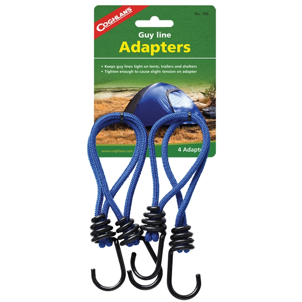 Coghlans Guy Line Adapters 4 Pack - Package