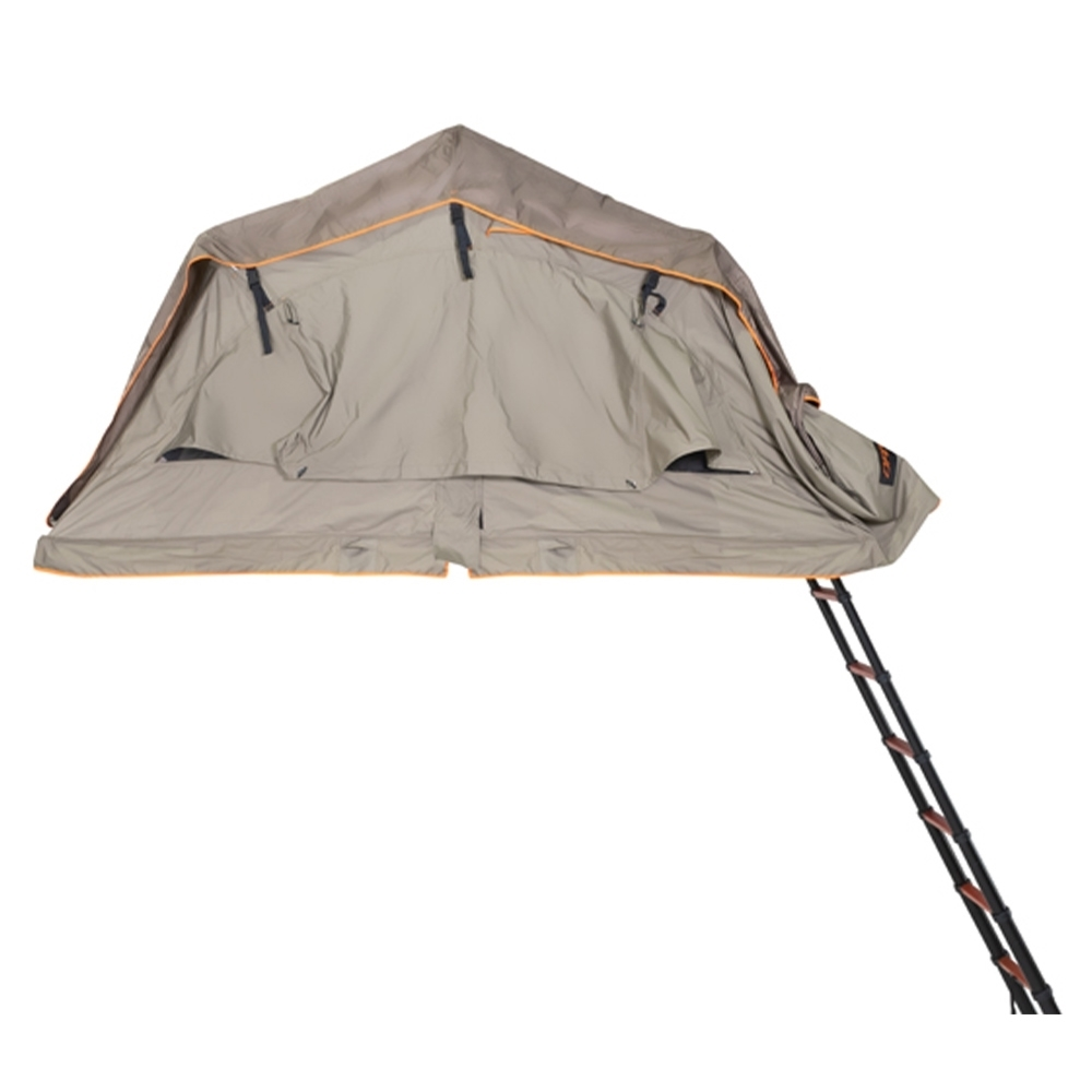 Darche Panorama 1400 Rooftop Tent - 320gsm poly/cotton ripstop canvas with 1500 PU waterproofing