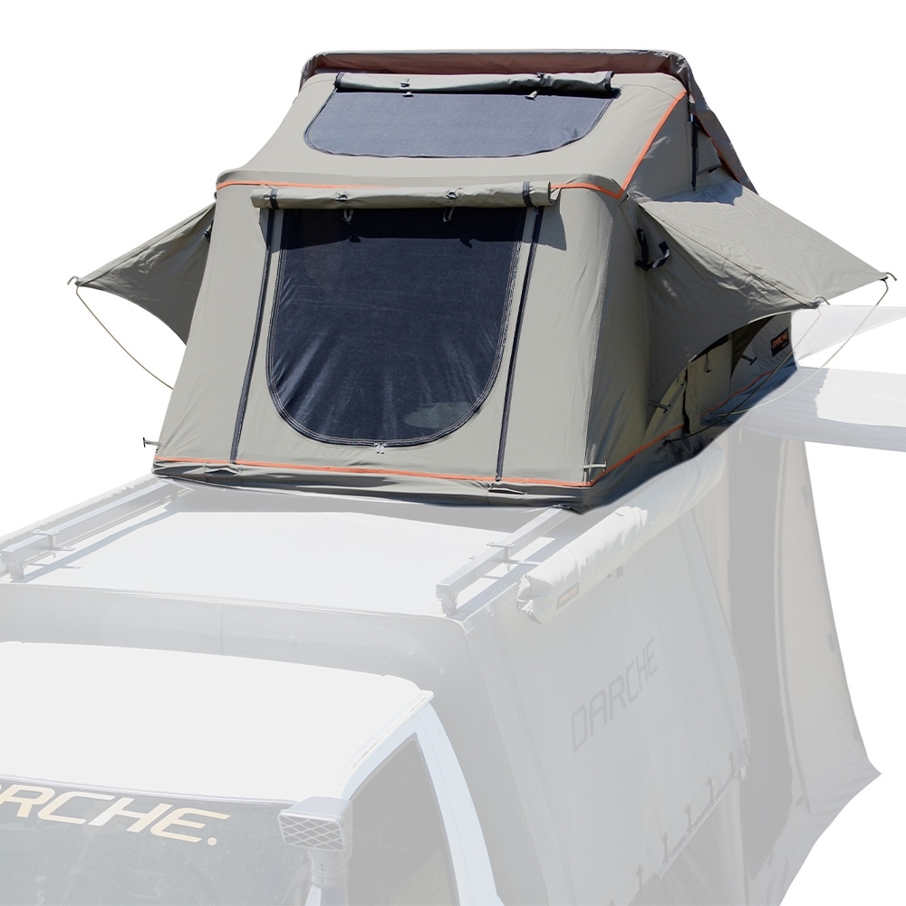Darche Panorama 1400 Rooftop Tent - Zippered star gazing ventilation window