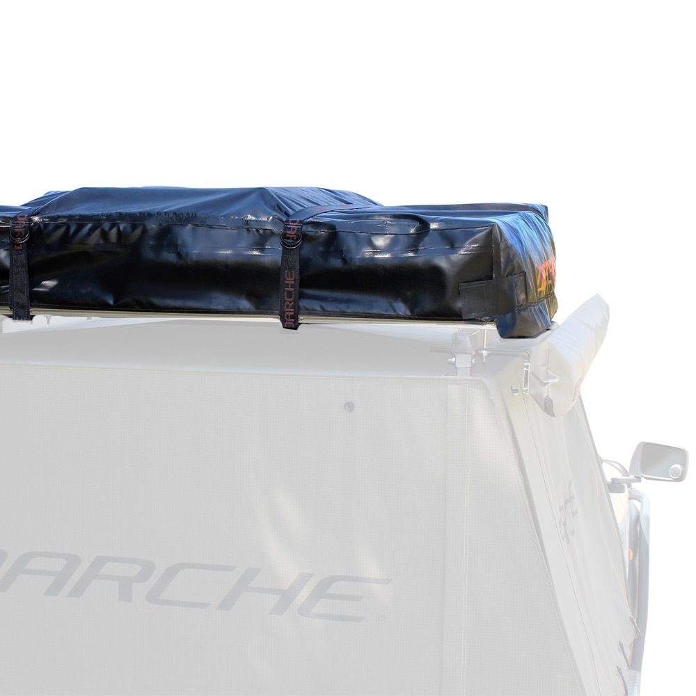 Darche Panorama 1400 Rooftop Tent - Low profile pack down design with laminated 600gsm PVC tonneau cover