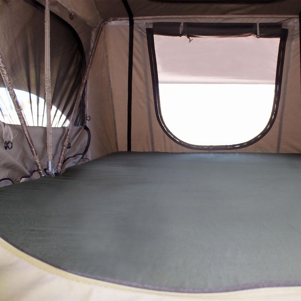 Darche Panorama 1400 Rooftop Tent - Sturdy 25mm diameter internal aluminium frame