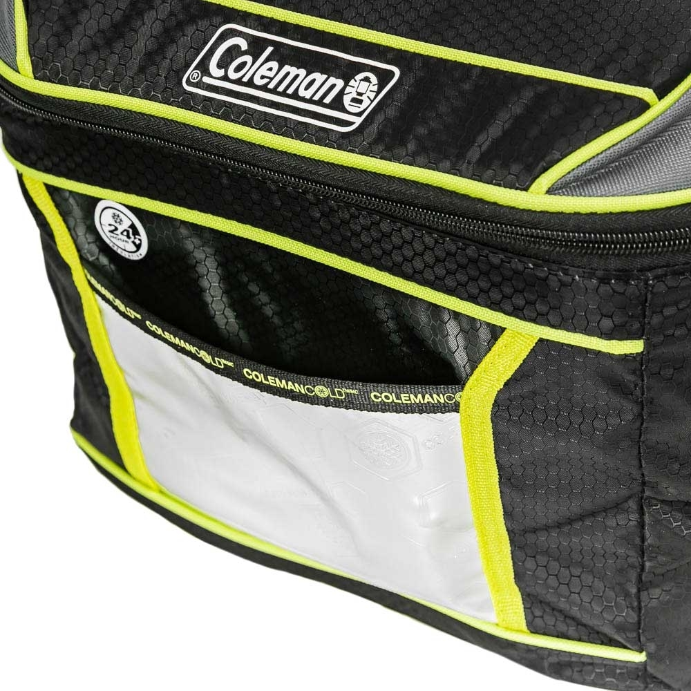 Coleman 16 Can Soft Sided Xtreme Cooler - Front pocket for storage