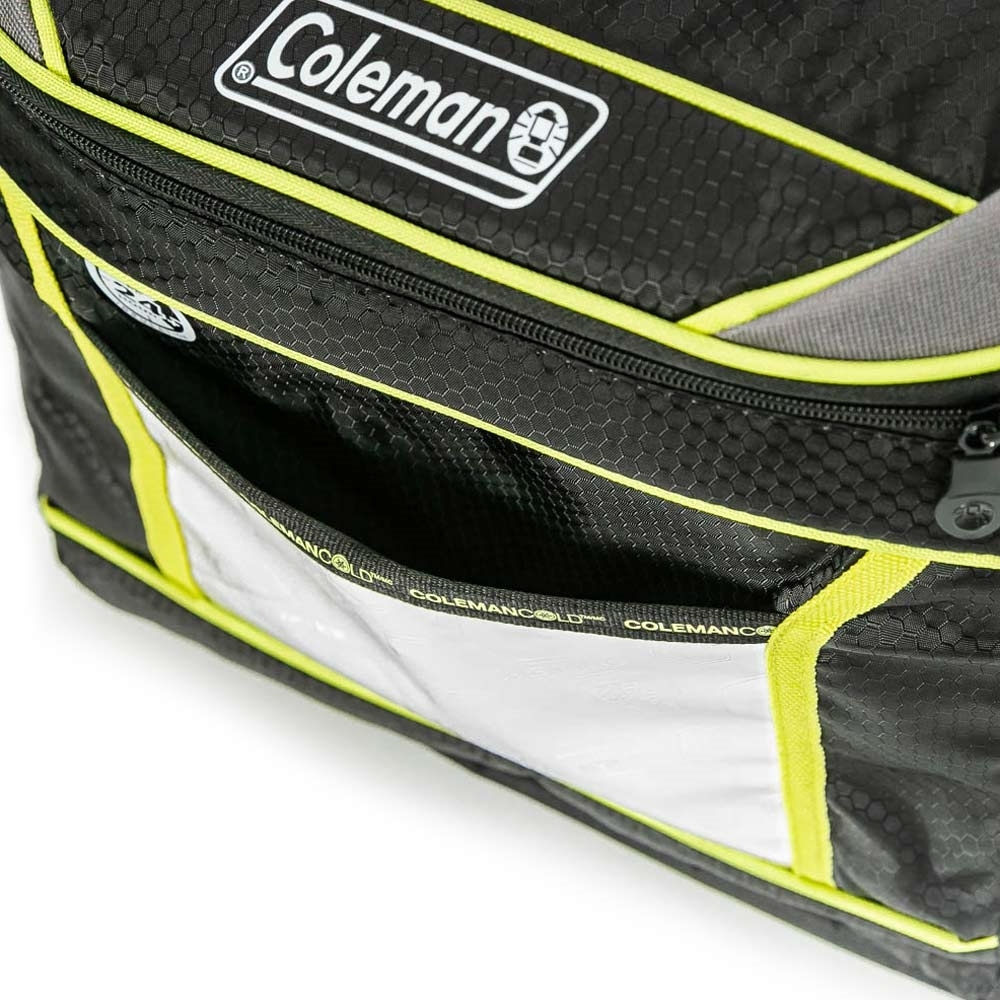 Coleman 30 Can Soft Sided Xtreme Cooler - Front pocket for storage