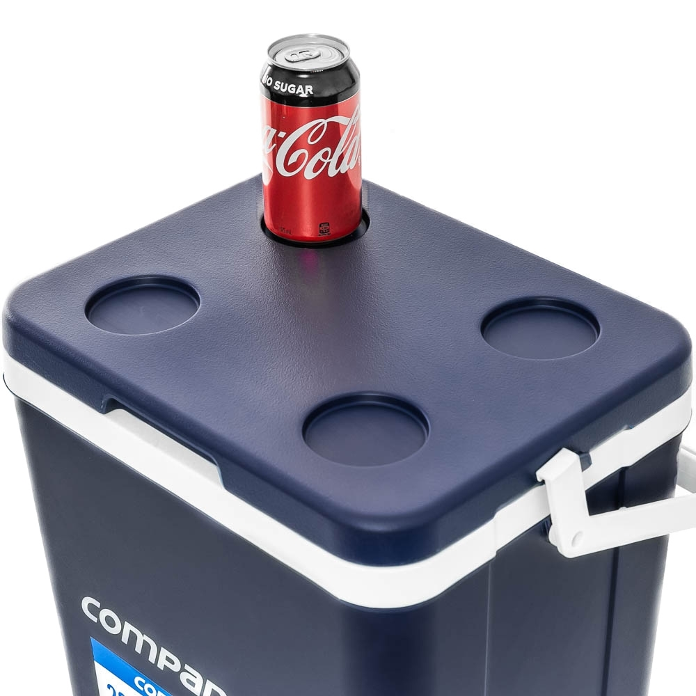 Companion Hard Cooler 26L - 4 integrated cup holder