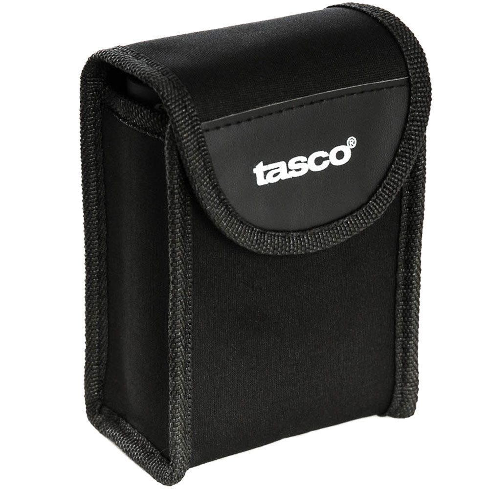 Tasco Essentials 10x25 Compact Binoculars - Carrying pouch