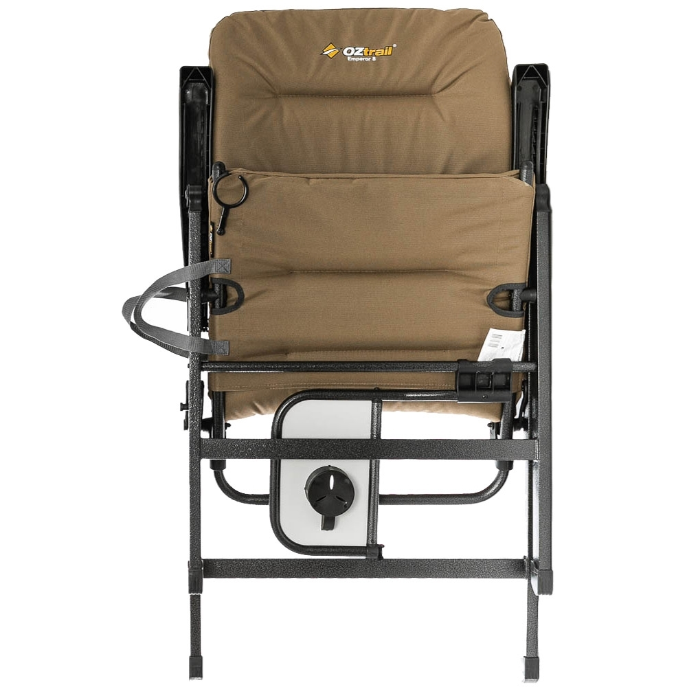 OZtrail Emperor 8 Position Recliner Chair - Foldable design