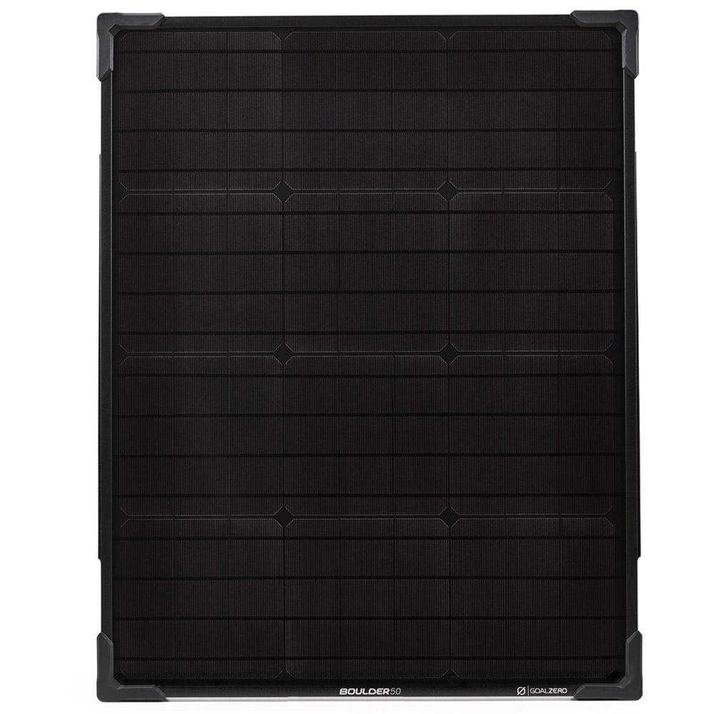 Goal Zero Boulder 50 Solar Panel - Rugged, durable, and rigid
