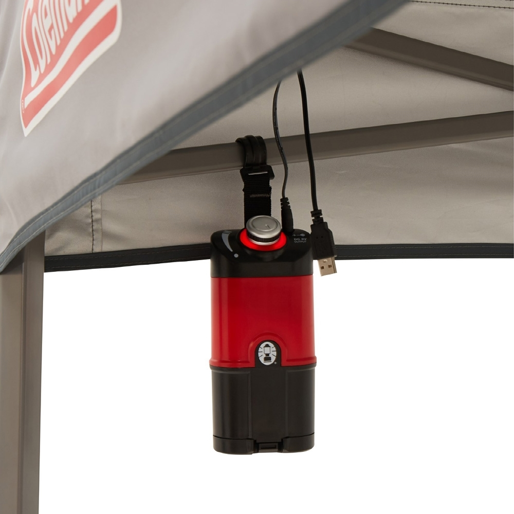Coleman Instant Up Lighted Gazebo 2.4x2.4 - Battery pack