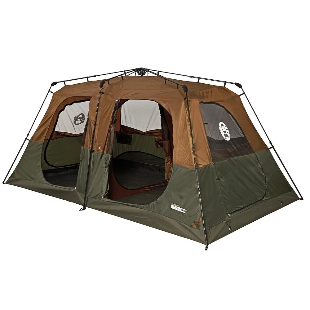 Coleman Instant Up 8P Lighted Northstar Darkroom Tent - D doors